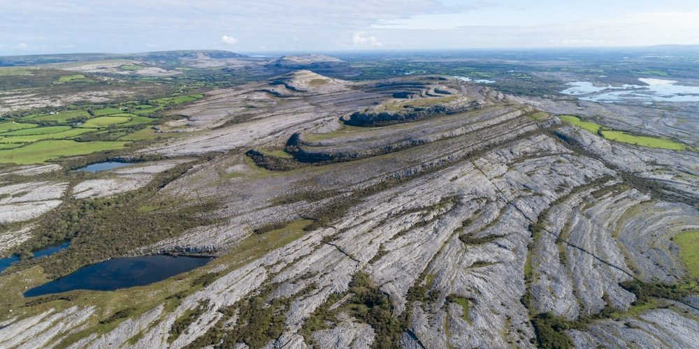 Scenic,Rocky,Landscape,Of,The,Burren,National,Park,In,County